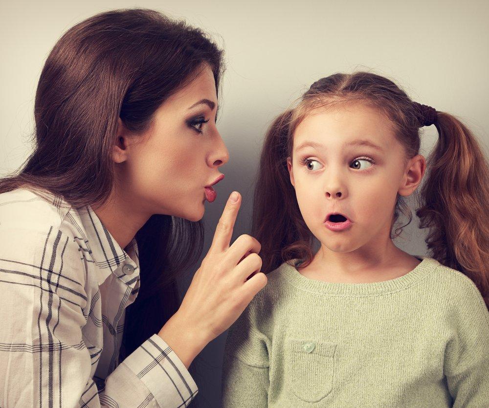 Fiese Dinge, die Kinder zu ihren Müttern sagen