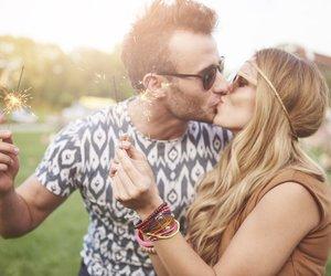 Paar Kuss