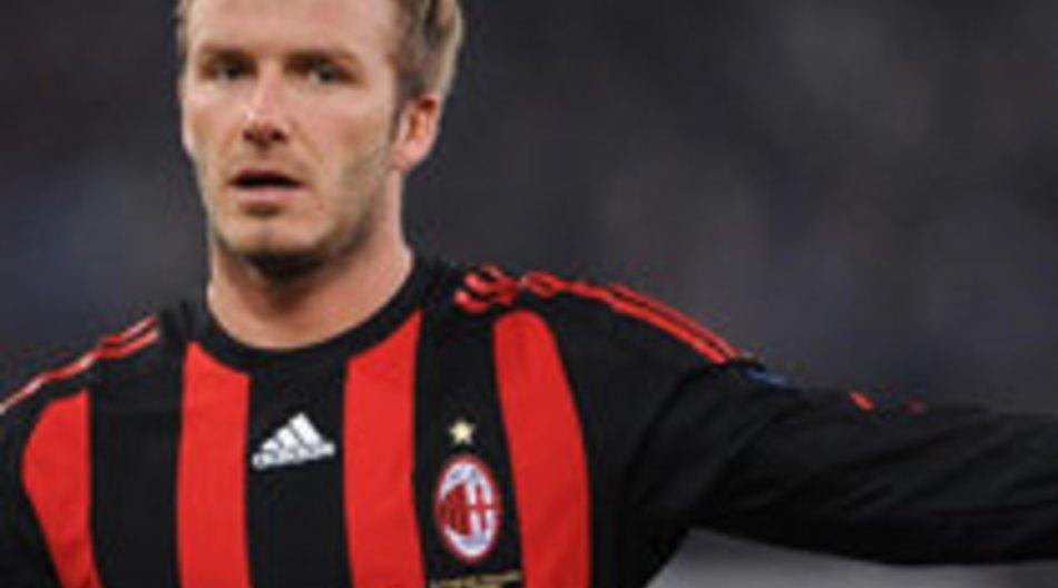 Wird David Beckham endgültig in Mailand bleiben?