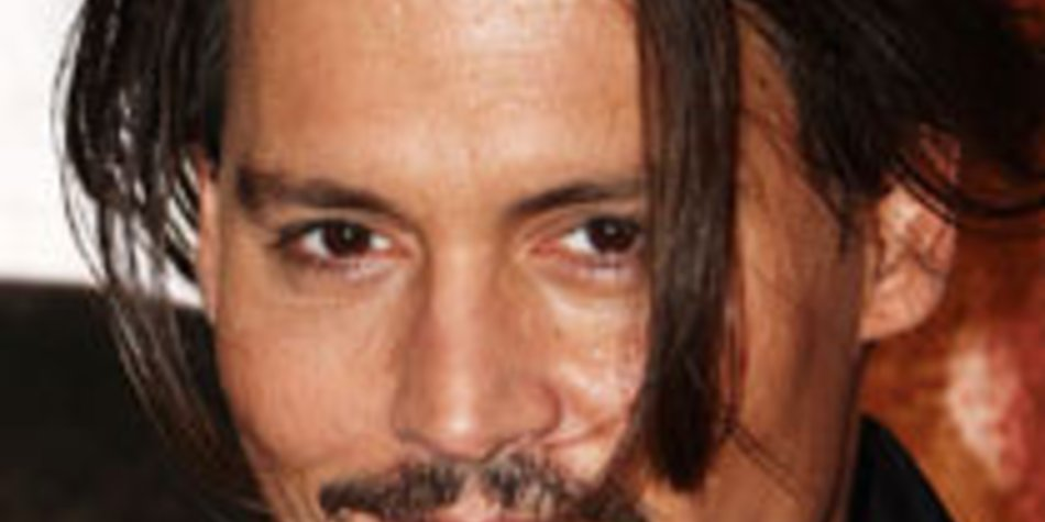 Johnny Depp im Liebesglück