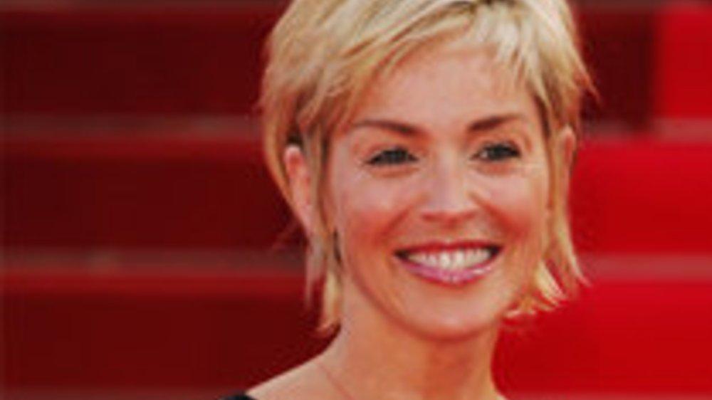 Sharon Stone: Unterstützung für Michael Douglas