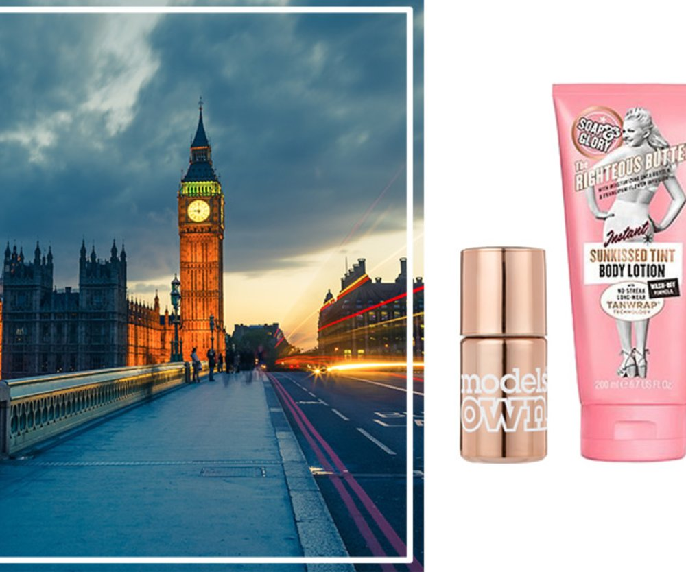 London, Charlotte Tilbury, Models Own, Soap and Glory