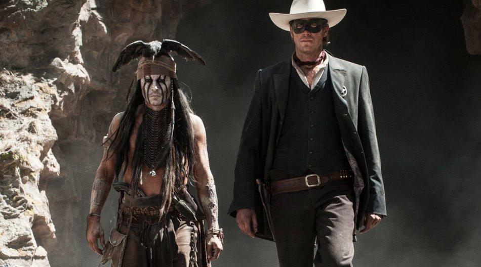 Lone Ranger: Johnny Depp als Tonto und Armie Hammer als Lone Ranger