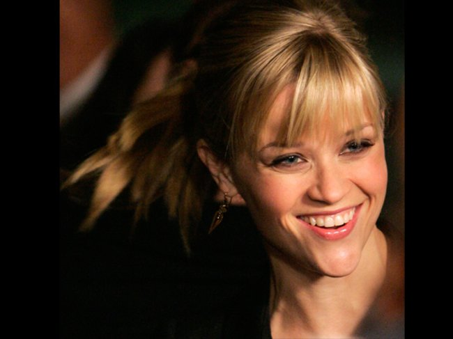 Reese Witherspoon mit Pony