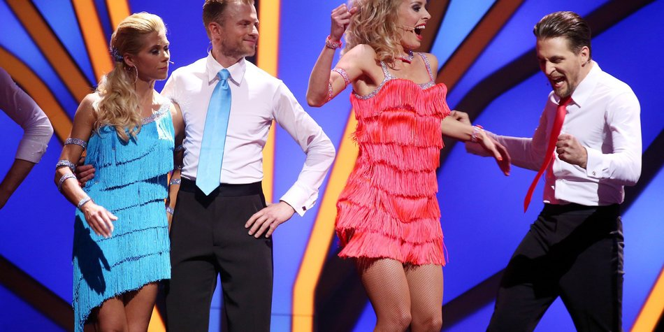 Lets Dance Alexander Klaws Und Tanja Szewczenko Im Finale