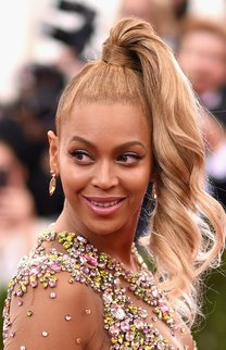 Beyonce: High Ponytail