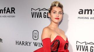 Miley Cyrus vergnügt sich mit Arnold Schwarzenegger.