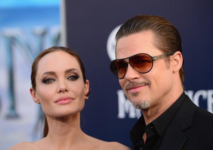 """Brad Pitt und Angelina Jolie stellen """"Maleficient"""" vor"""