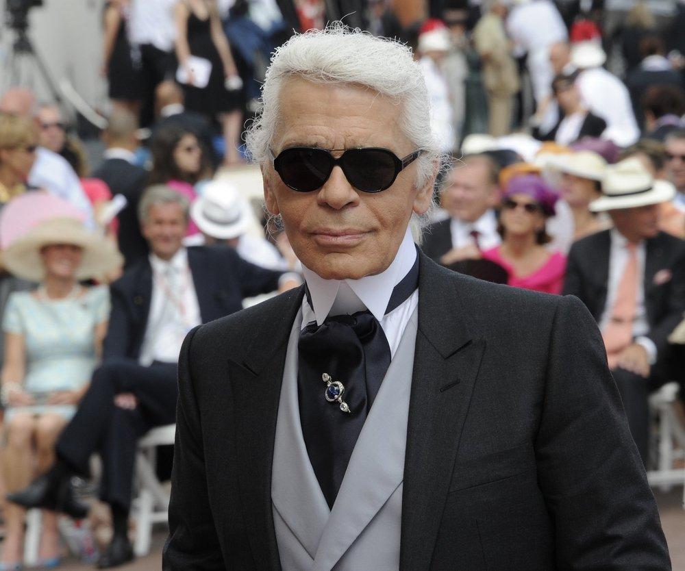 Karl Lagerfeld sucht Model