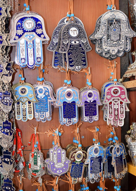 Hamsa Tattoo Amulett