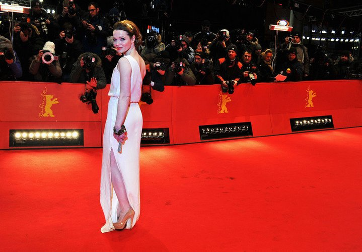 Karoline Herfurth auf dem Red Carpet.