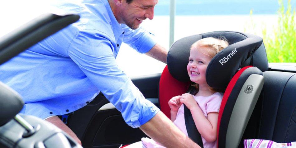 Kindersitze mit Seitenaufprallschutz