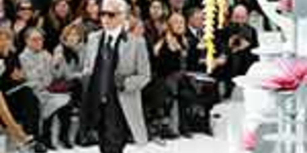 Karl Lagerfeld Chanel Haute Couture