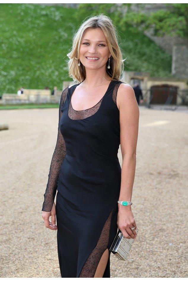 Kate Moss beim royalen Dinner