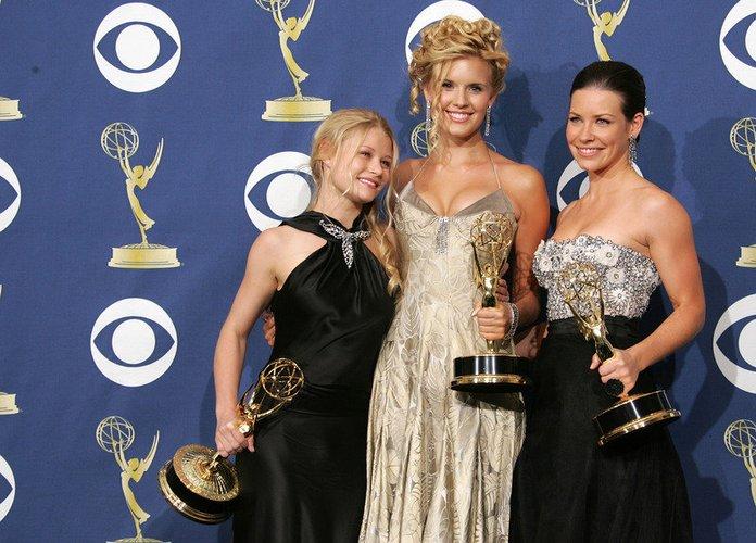 Evangeline Lilly ist Teil eines hübschen Trios