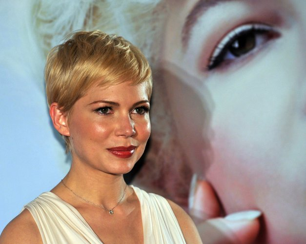 Michelle Williams mit trendigem Pixie Cut
