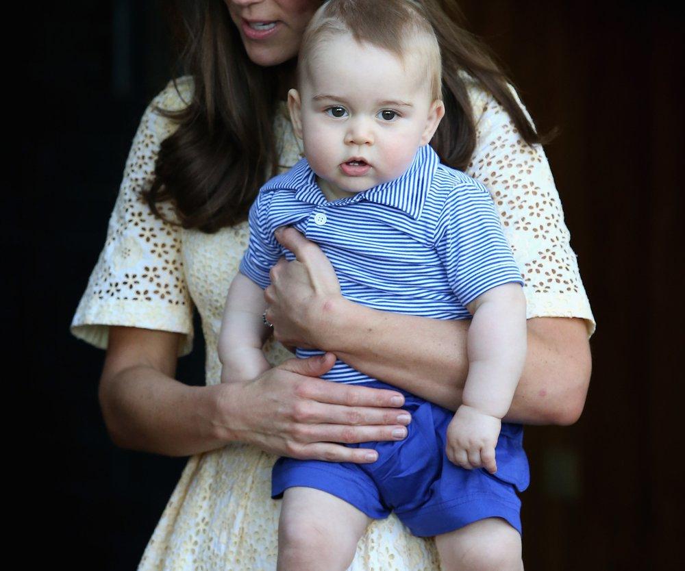 Prinz George kann laufen!