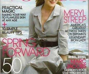 Meryl Streep auf der Vogue