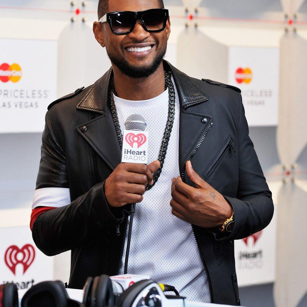 Usher isst wieder Fleisch