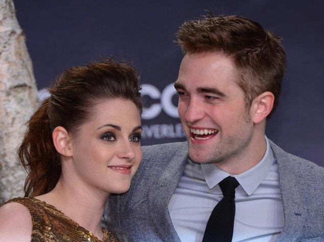 Robert Pattinson und Kristen Stewart bei einem Event