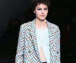 Mailand Fashion Week: Emporio Armani und die Gegensätzlichkeit