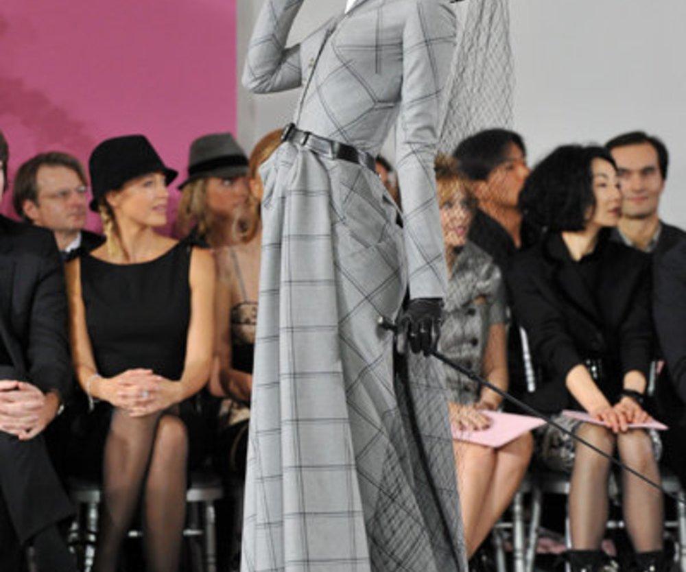 Haute Couture von Dior bei der Fashion Week Paris