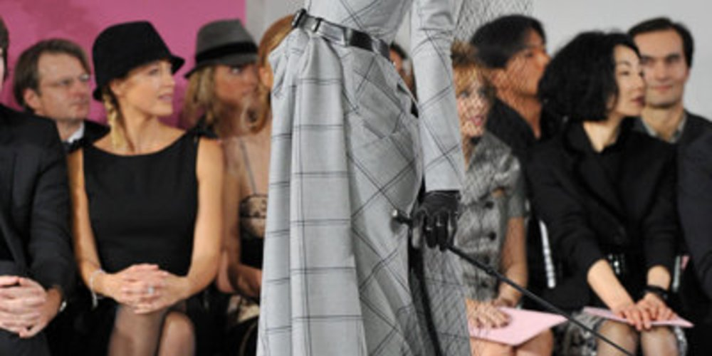 Haute Couture von Dior bei der Fashion Week Paris