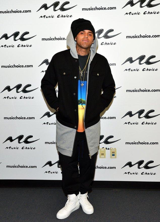 Chris Brown bei einem Event in New York