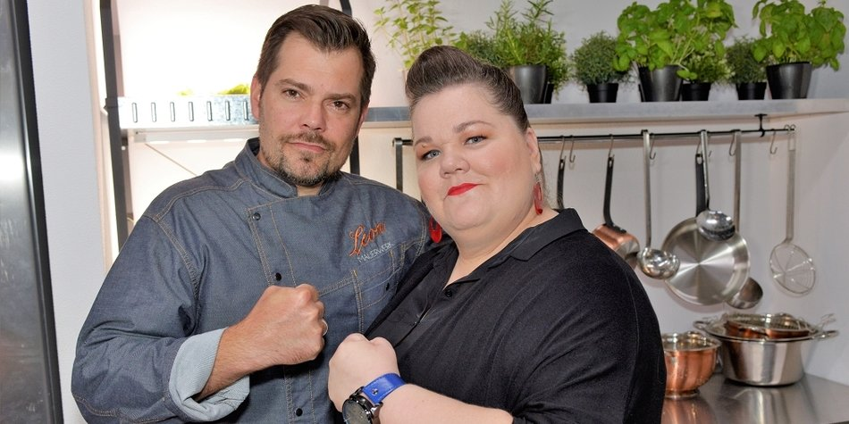 Manuela Wisbeck und Daniel Fehlow