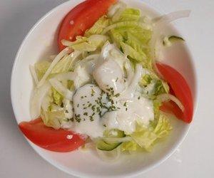 Salatsoße für Kopfsalat
