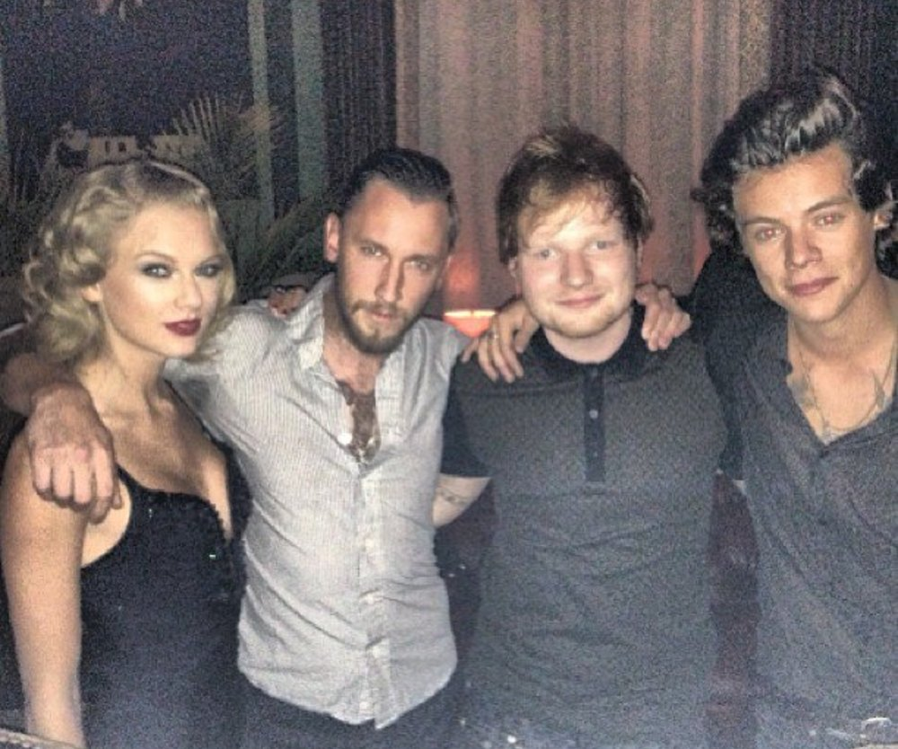 Taylor Swift posiert mit Harry Styles!