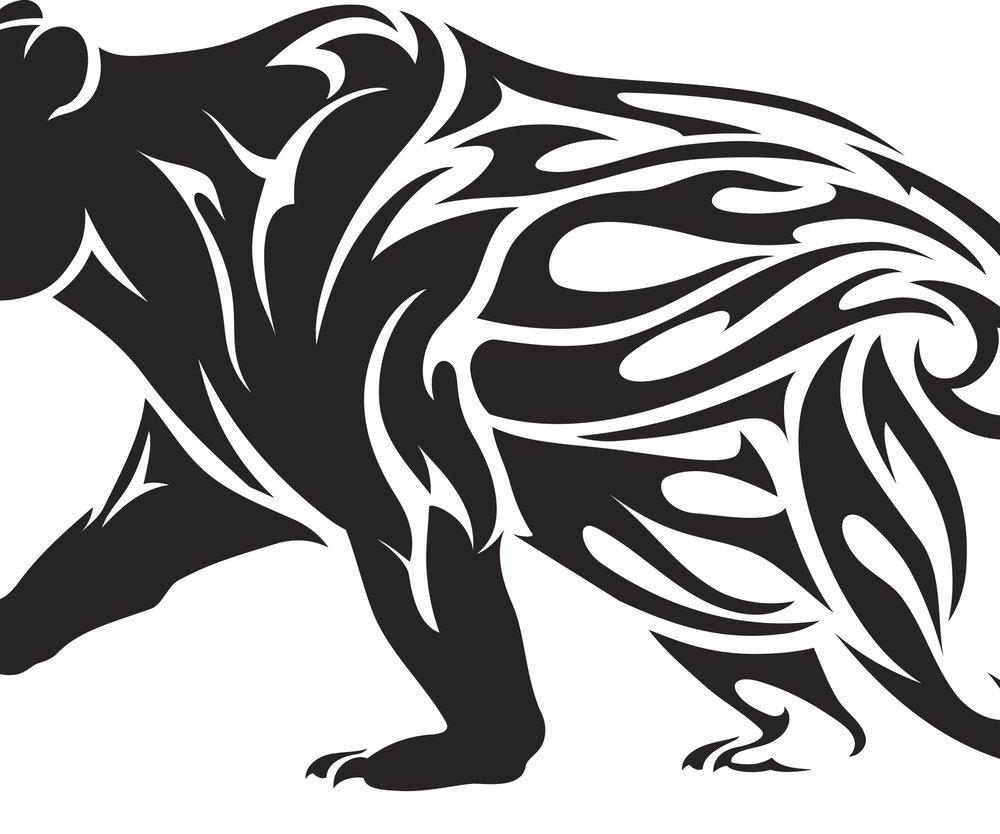 Bär-Tattoo