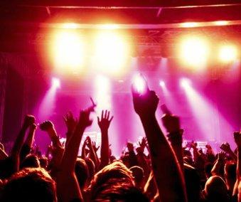 Fans bei einem Festival
