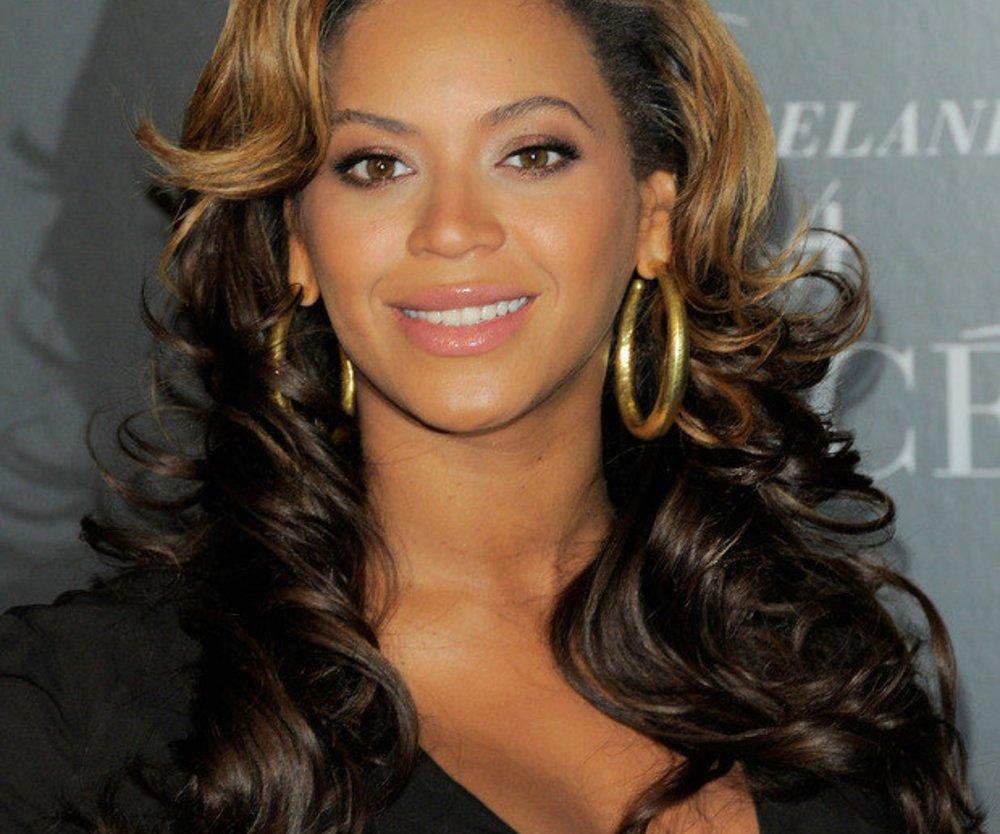 Beyoncé mit Baby zuhause