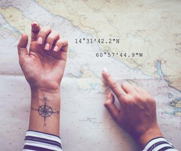 Warum Koordinaten-Tattoos so besonders sind