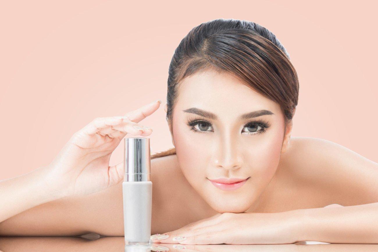 Ölfreies Make-up für einen makellosen Teint