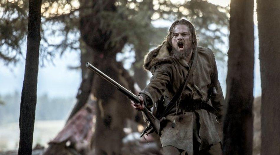 """Leonardo DiCaprio als Trapper Hugh Glass im Film """"The Revenant - Der Rückkehrer""""."""