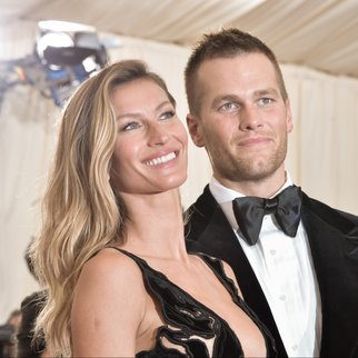 "Gisele Bndchen and Tom Brady attend the ""Charles James: Beyond Fashion"" Costume Institute Gala at the Metropolitan Museum of Art on May 5, 2014 in New York City. (Photo by Andrew H. Walker/Getty Images)"