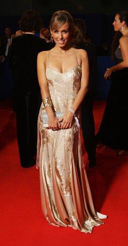 Kleid in gold