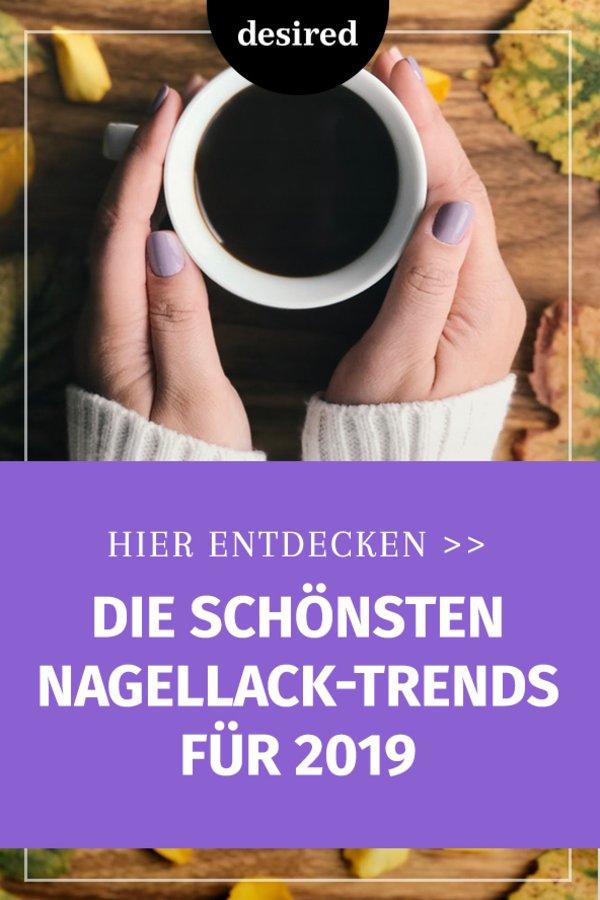 Grau Bis Glitzer Das Sind Die Nagellack Trends 2019 Desired De