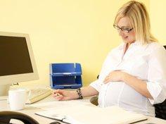 Sechs Wochen vor der Geburt fängt der Mutterschaftsurlaub an.