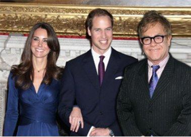 Prinz William und Kate Middleton: Hochzeit mit Elton John?