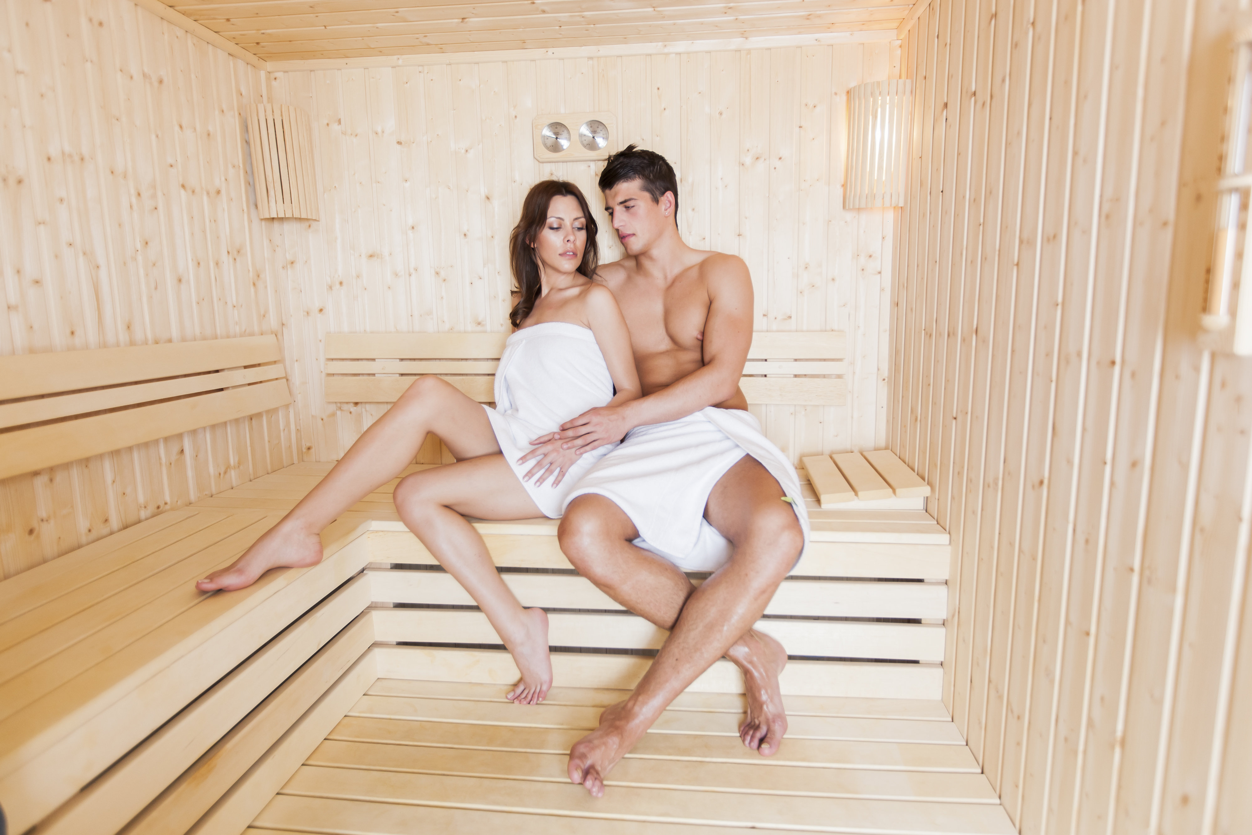 In Der Sauna Sex