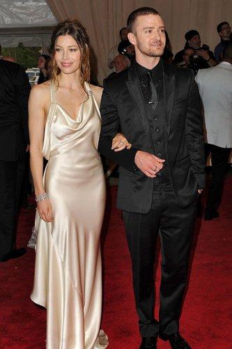 Justin Timberlake ist mit Jessica Biel liiert