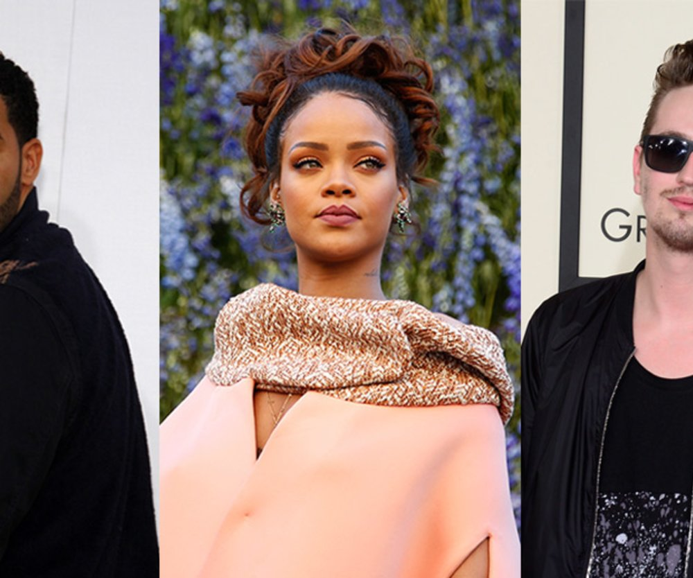 Drake, Rihanna, Robin Schulz