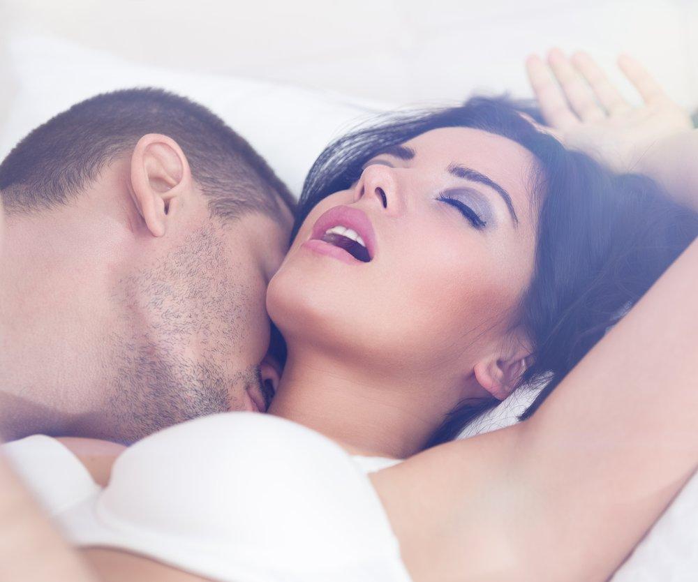 close up of heterosexual couple having sex