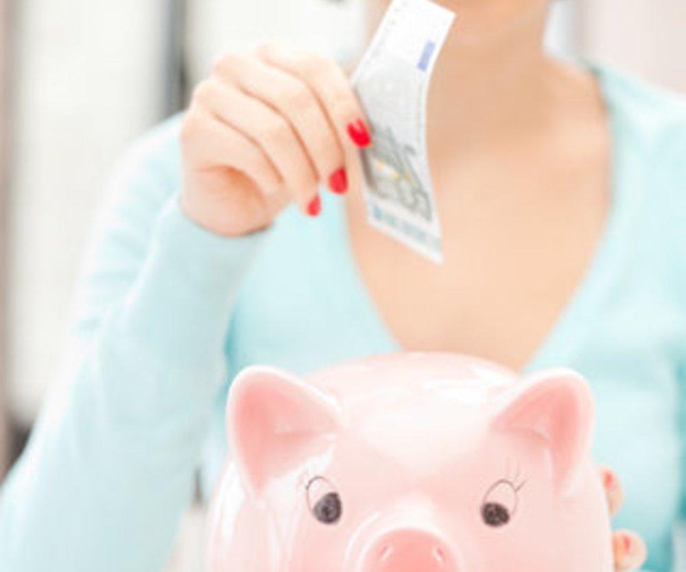 Sparen will gelernt sein