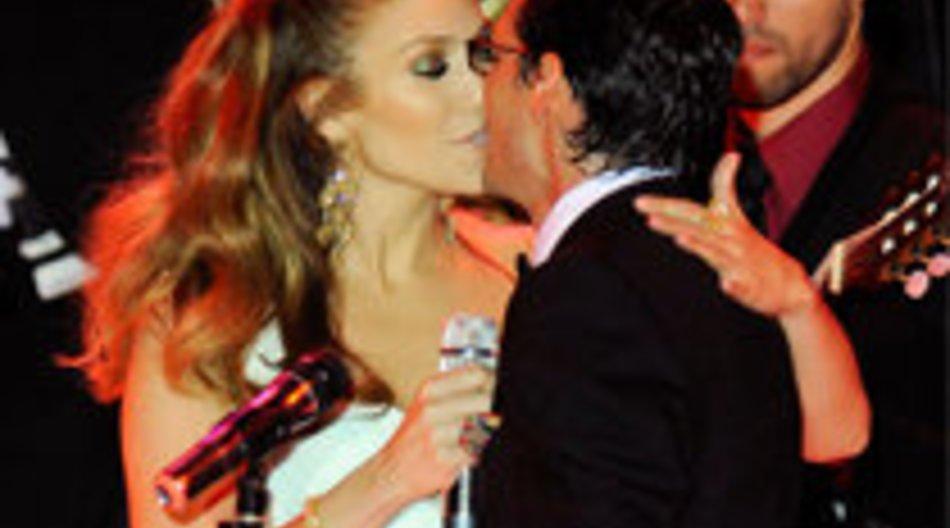 Lopez-Zwillinge on stage