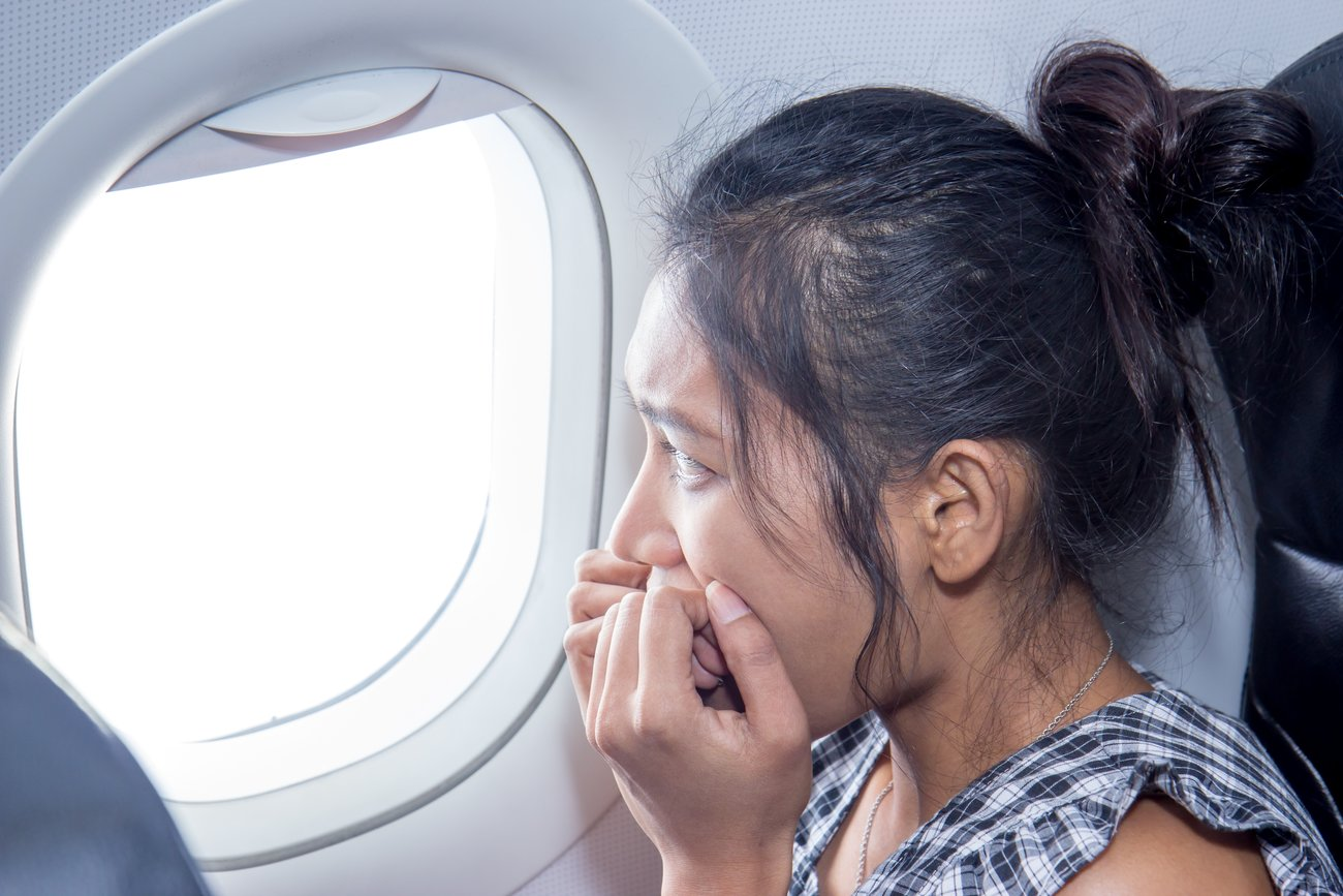 Angst im Flugzeug