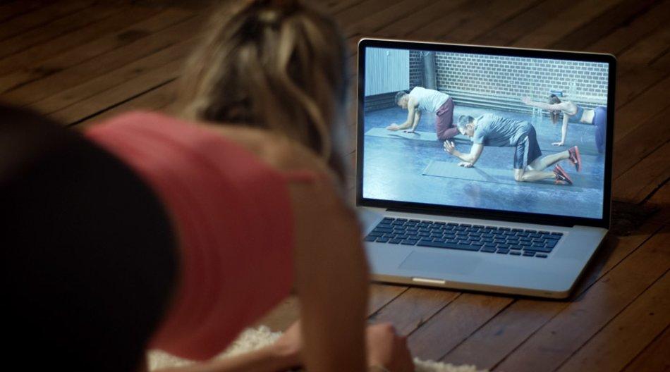 Online-Fitness-Studios